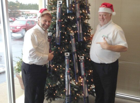 murphys autocare the twelve days of christmas check out the tree