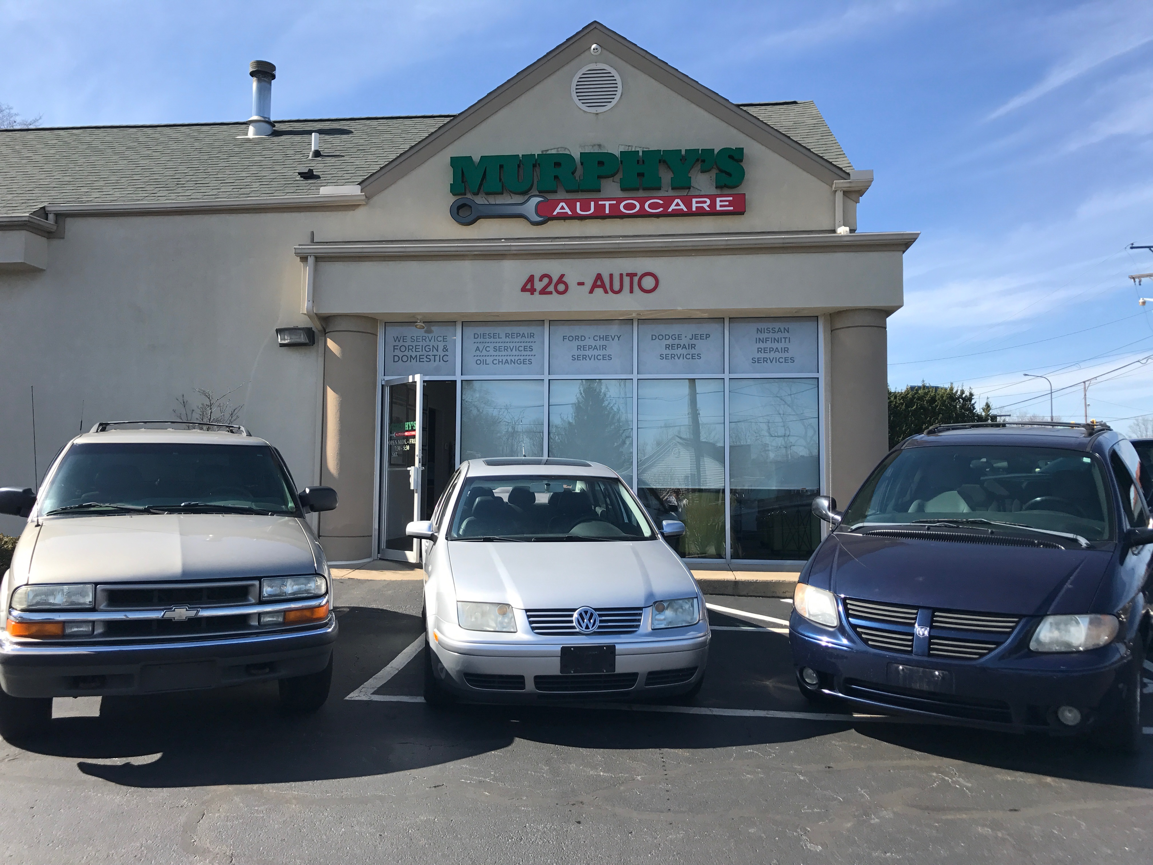 Murphy's Autocare Restores Goodwill Vehicles!